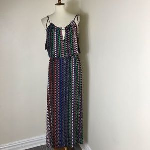 City Chic tassel maxi summer dress
